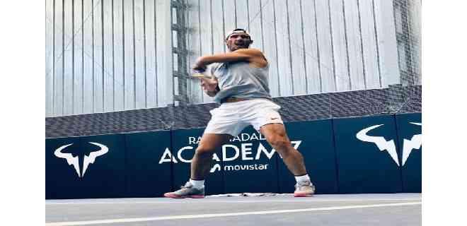 Nadal confirmó que participará en el Masters 1.000 de París