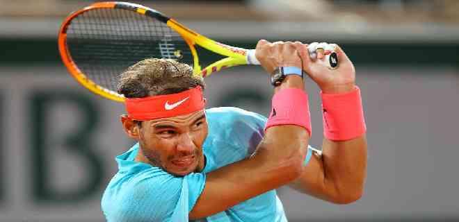 Rafael Nadal está en las semifinales de Roland Garros