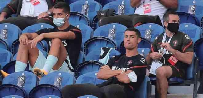 Ronaldo pudo haber violado protocolo contra el Covid-19