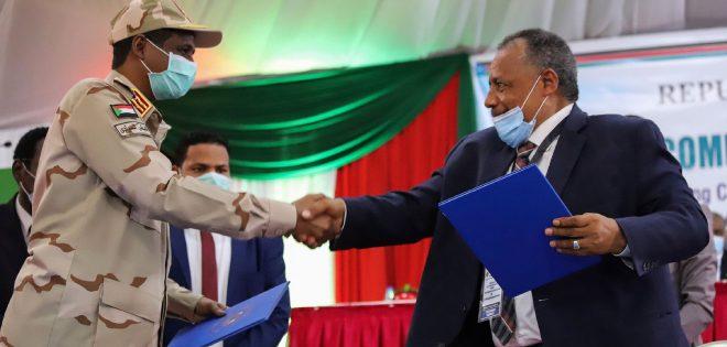 Sudan ratifica el acuerdo de paz firmado entre Gobierno y grupos armados