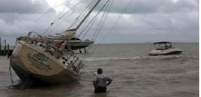 La tormenta Ganma toma fuerza rumbo al Golfo de México