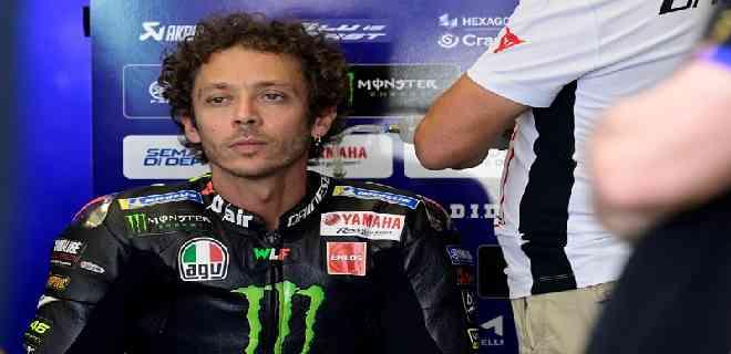 Valentino Rossi arroja positivo a prueba de Covid-19